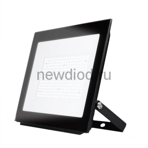 Прожектор светодиодный ULF-F20-200W 4000K IP65 195-250В BLACK Uniel