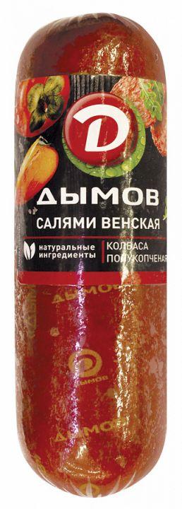 Салями Венская п/к в/у 380гр. Дымов