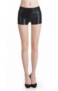 шорты под латекс, высокая талия, размеры M L, модель 550