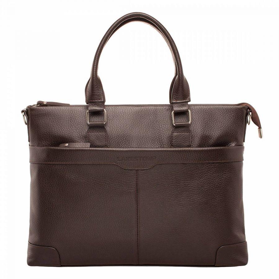 Деловая сумка Lakestone Gilroy Brown