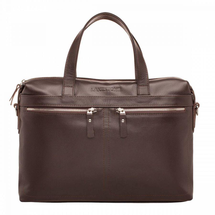 Деловая сумка Lakestone Dalston Brown