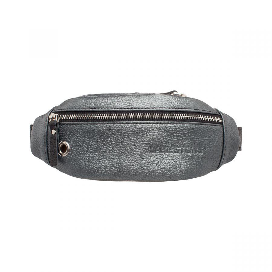 Женская сумка Lakestone на пояс Bisley Silver Grey