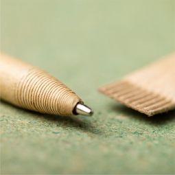 картонные ручки с колпачком