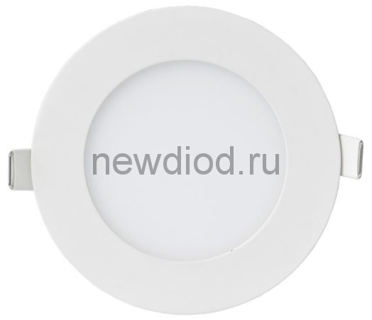 Панель сд круглая RLP-VC 9Вт 230В 6500К 630Лм 118мм белая IP40 IN HOME