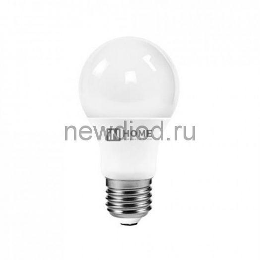 Лампа светодиодная LED-A60-VC 8Вт 230В Е27 4000К 720Лм IN HOME