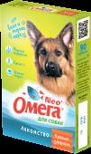 """Омега Neo Мультивитаминное лакомство для собак """"Крепкое здоровье"""" (90 табл.)"""