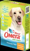 """Омега Neo Мультивитаминное лакомство для собак """"Здоровые суставы"""" (90 табл.)"""
