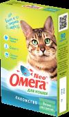 """Омега Neo+ Мультивитаминное лакомство для кошек """"Мятное настроение"""" (90 табл.)"""