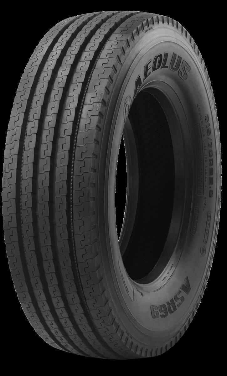 Аеолус 315/70R22.5 ASR69 TL PR18 156/150 L Рулевая/ПрицепнаяM+S