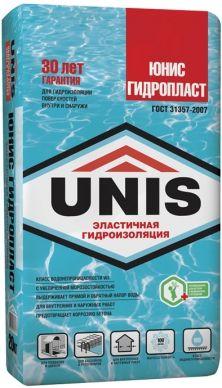 Гидроизоляционный состав Юнис Гидропласт, 20 кг