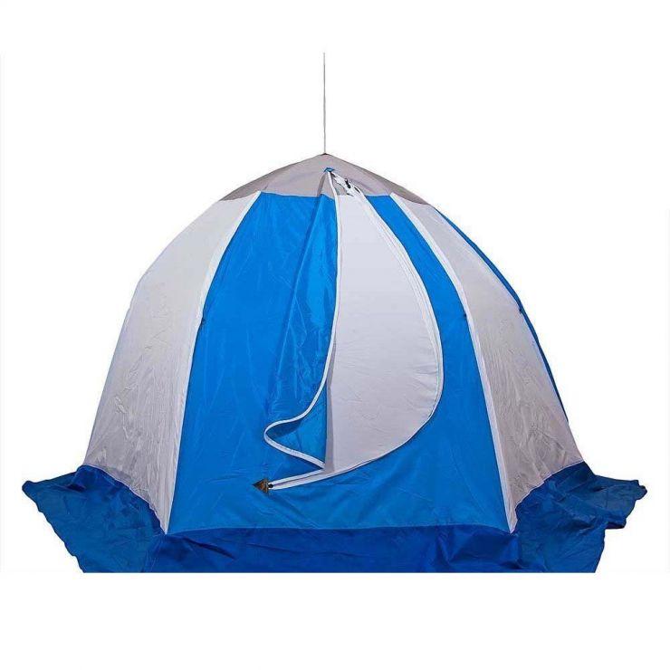 Палатка   зимняя Стэк ELITE 2-мест трехслойная дышащая 225*190*150