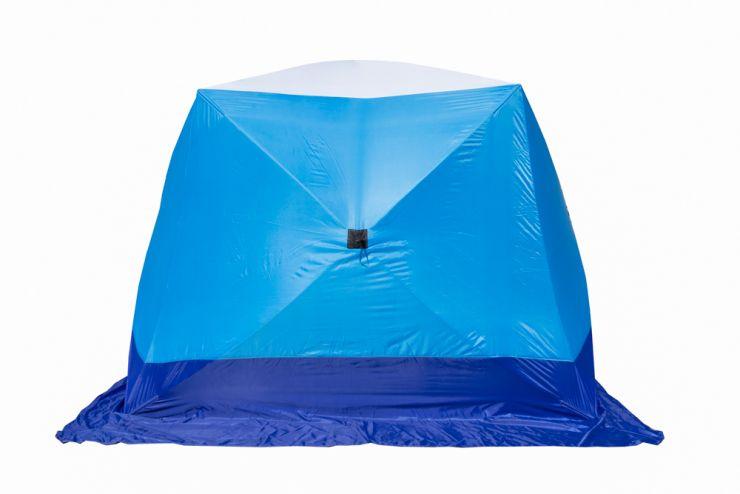 Палатка   зимняя Стэк КУБ 3 трехслойная LONG дышащая
