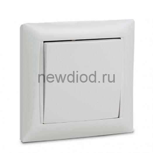 Выключатель 1кл VALENZO белый 6021 IN HOME