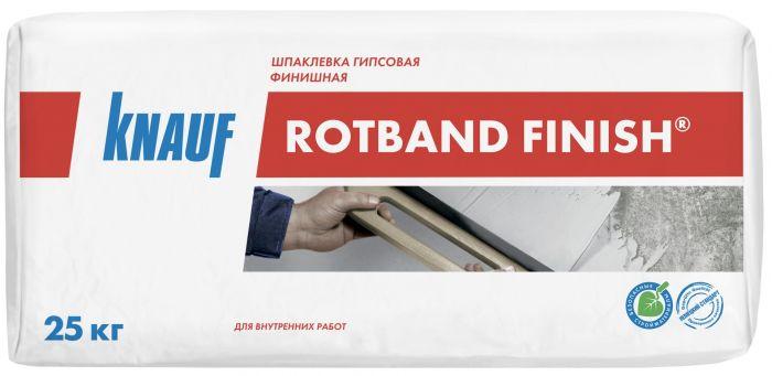 Шпатлевка гипсовая Knauf Ротбанд Финиш, 25 кг