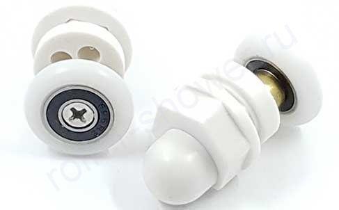 Ролики для душевых кабин VH088 appollo (комплект 8шт) Диаметр колеса (19,мм,20мм,22мм,23мм,25мм,27мм)