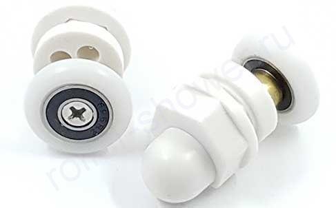 Ролик  VH088 (комплект 8шт) для кабин Appollo. Диаметр колеса (19,мм,20мм,22мм,23мм,25мм,27мм)