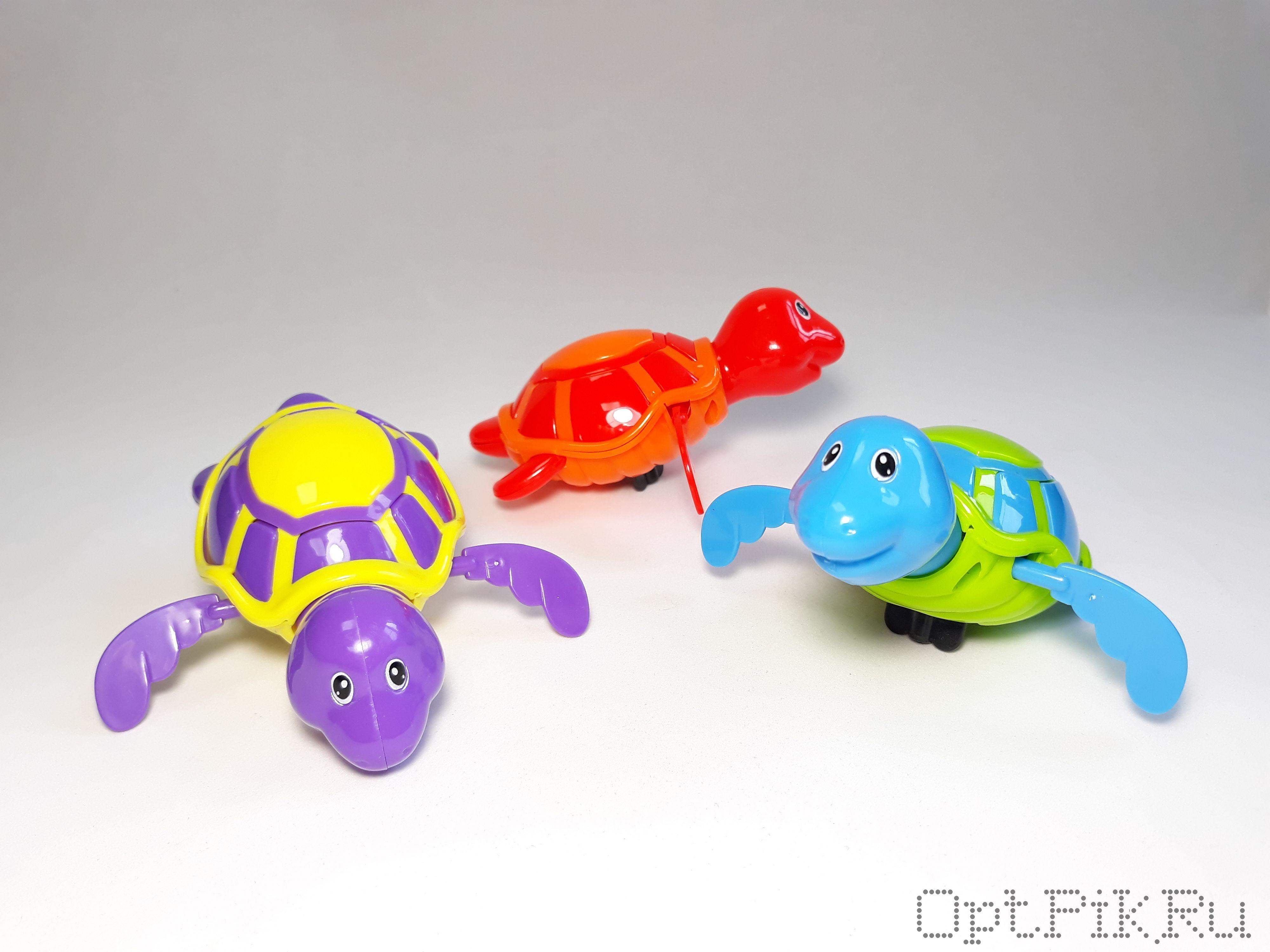 """Игрушка для купания """"Шустрая черепашка"""""""