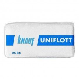 Шпатлевка гипсовая высокопрочная Knauf Унифлот, 25 кг