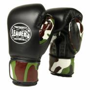 Перчатки боксерские LEADERS LeadSeries Custom BK/CAMO