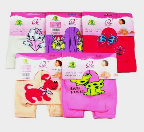 Детские колготки для девочки под памперс № 815
