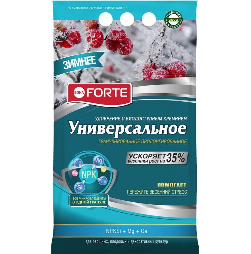 Удобрение универсальное Bona Forte зимнее