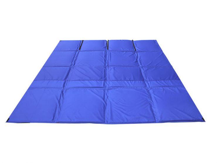 Пол для зимней палатки КУБ 3 2,25х2,25м синий Оксфорд 600 СТЭК