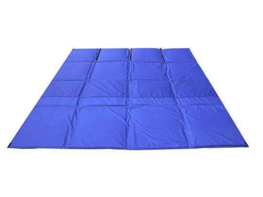 Пол для зимней палатки КУБ 3 2,25х2,25м синий Оксфорд 300 СТЭК