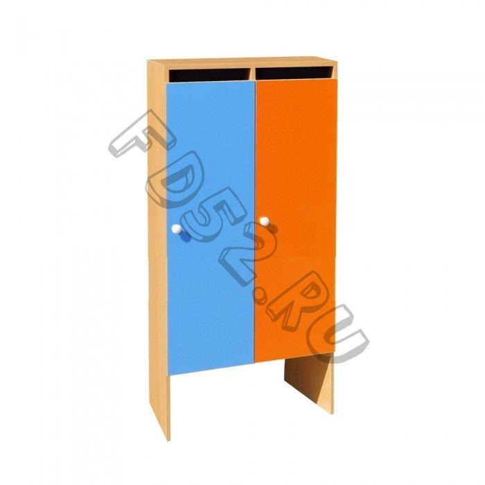 Шкаф для одежды 2-х секционный ШНД-2
