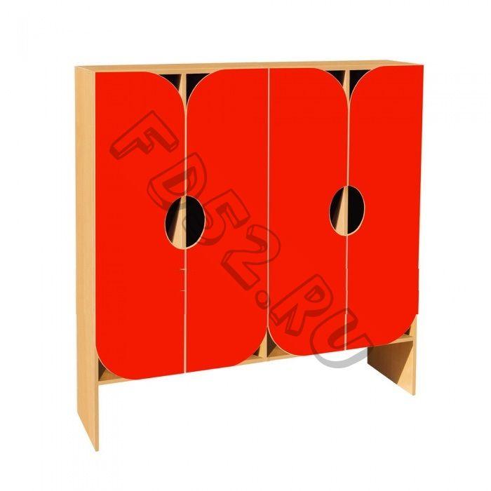 Шкаф для одежды 4-х секционный ШНД-24