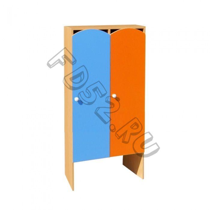 Шкаф для одежды 2-х секционный ШНДР