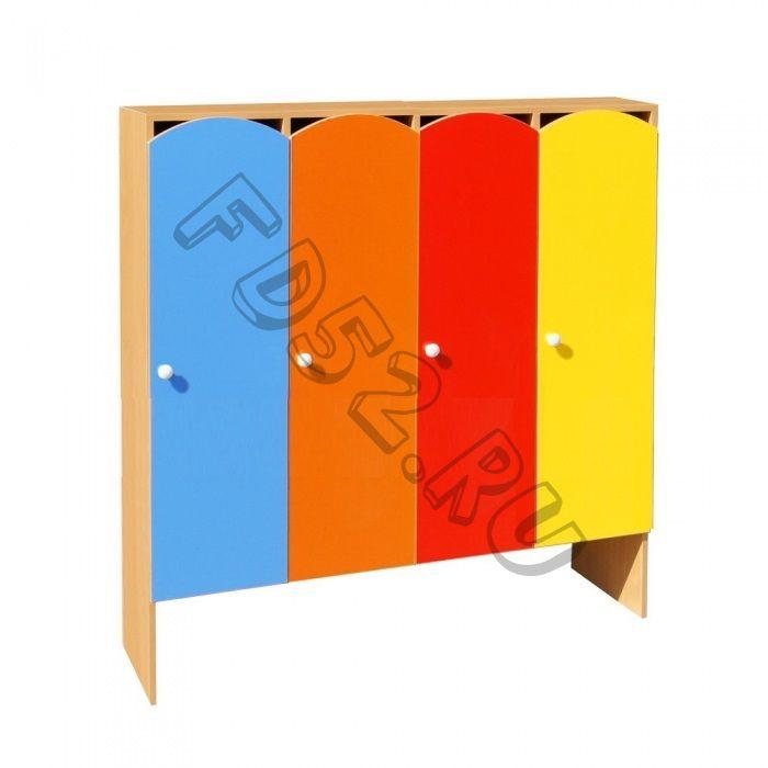 Шкаф для одежды 4-х секционный ШНДР