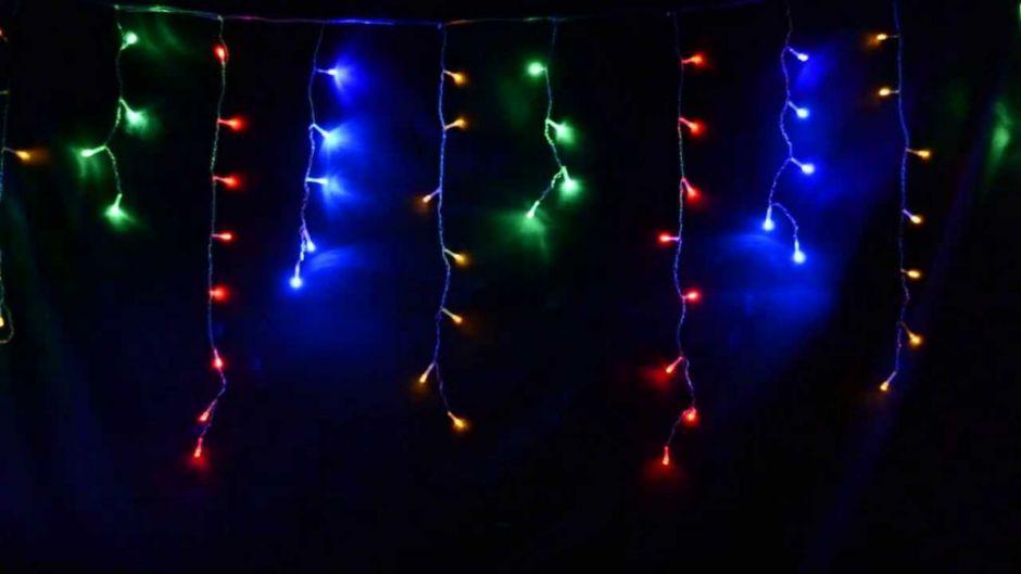 Светодиодная гирлянда Шторка 160 LED лампочек