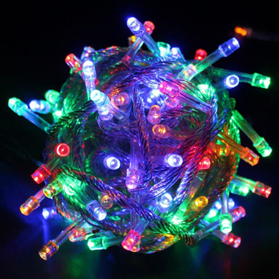 Новогодняя светодиодная гирлянда 100 LED лампочек