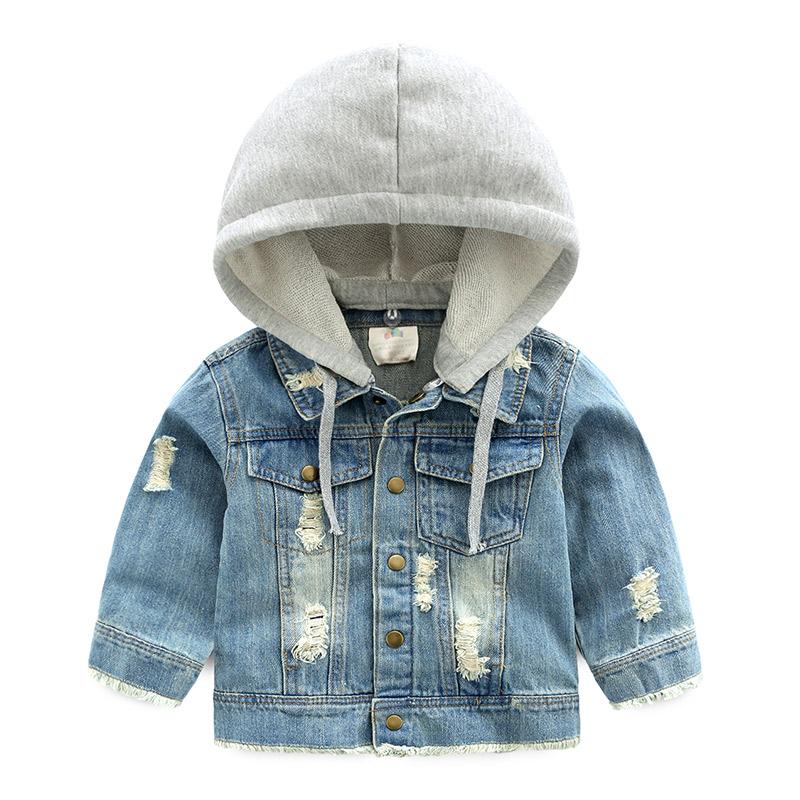 Джинсовая куртка BABYKIDS ELEMENT 8495