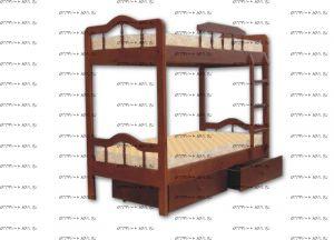 Кровать двухъярусная 43039