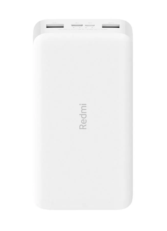 Аккумулятор Xiaomi Redmi Power Bank Fast Charge 20000