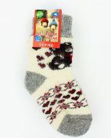 Шерстяные носки детские 3-6 лет №А008