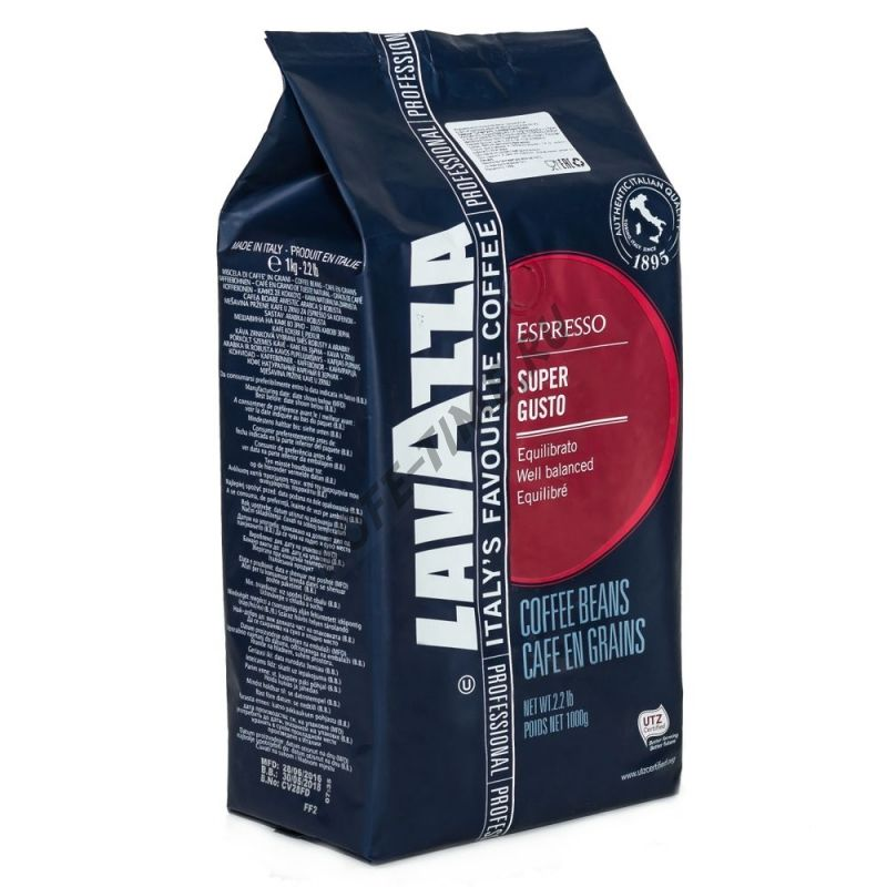 Кофе Lavazza Super Gusto, 1 кг.