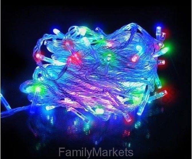 Светодиодная гирлянда 100 LED 8м