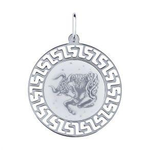 Подвеска «Знак зодиака Телец» 94100006 SOKOLOV