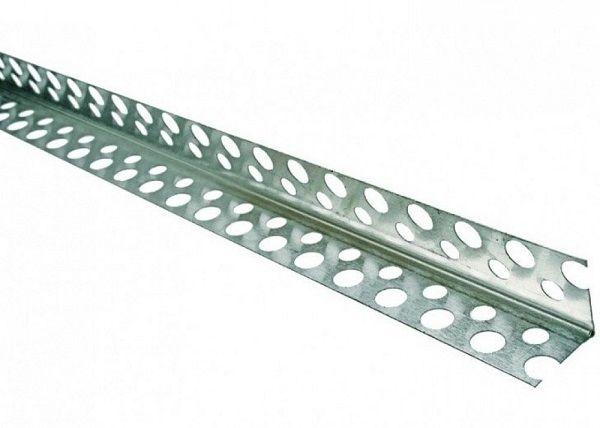 Профиль угловой алюминиевый (малярный), 3 м