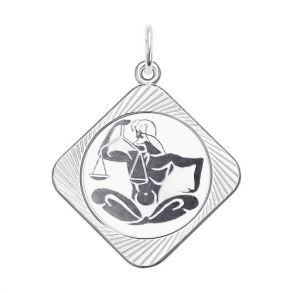 Подвеска «Знак зодиака Весы» 94100073 SOKOLOV