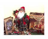 Санта Клаус в красном кафтане с подарками 30 см