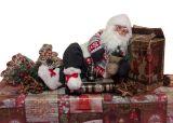 Санта Клаус сидящий 45 см