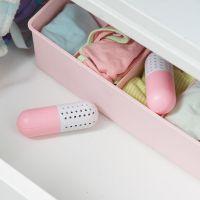 Поглотитель неприятного запаха для обуви CURE, цвет розовый (3)