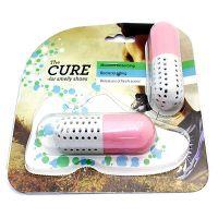 Поглотитель неприятного запаха для обуви CURE, цвет розовый (5)