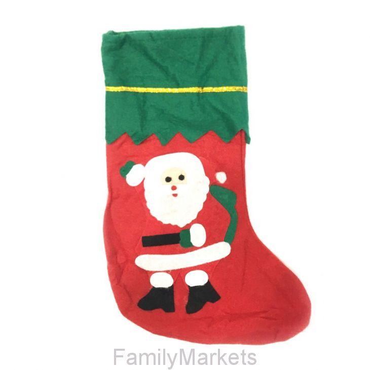 Новогодний носок для подарков, 36х22см