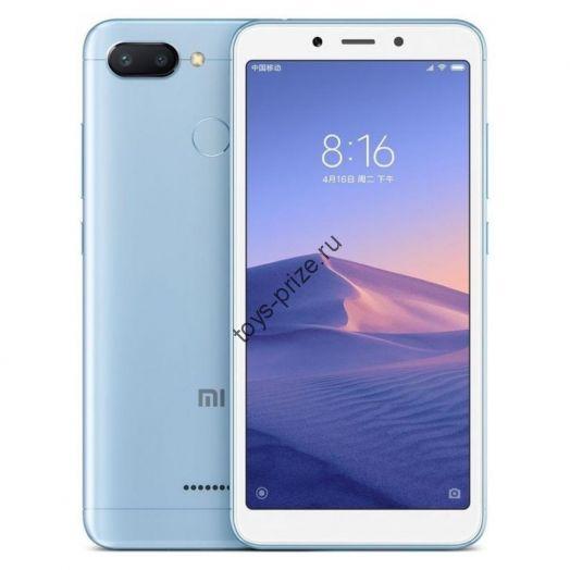 Смартфон Xiaomi Redmi 6 3/64Gb Blue EU (Global Version)