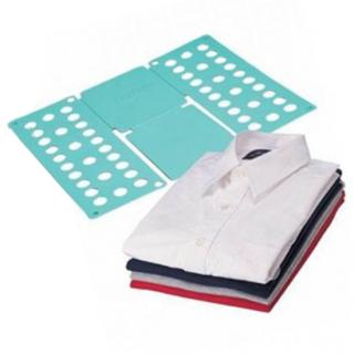 Рамка для складывания взрослой одежды Clothes Folder (Клозес Фолдер), Цвет: Голубой