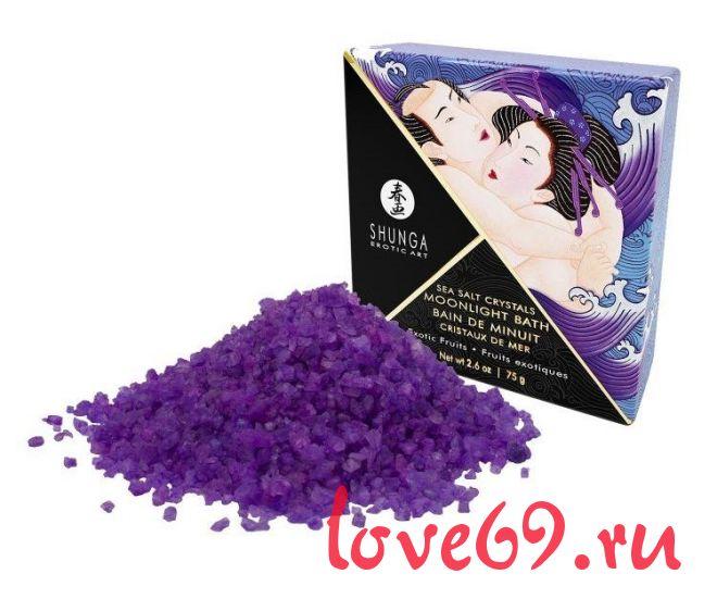 Соль для ванны Bath Salts Exotic Fruits с ароматом экзотических фруктов - 75 гр.